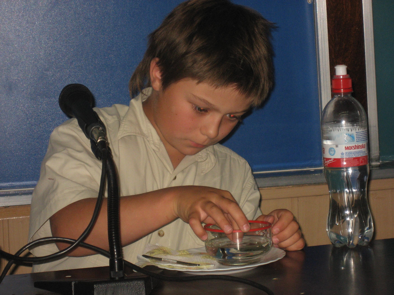 Трофимов Александр, 6 класс. Конференція Малого каразінського університету